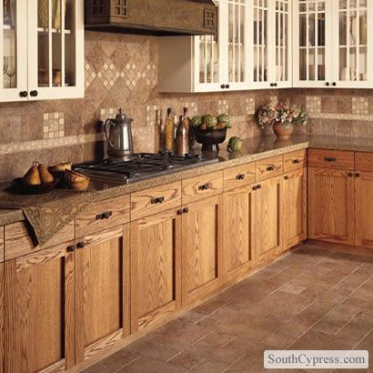 Matching Floor And Backsplash Kitchen Remodel Cabinets And Countertops Kitchen Cabinets