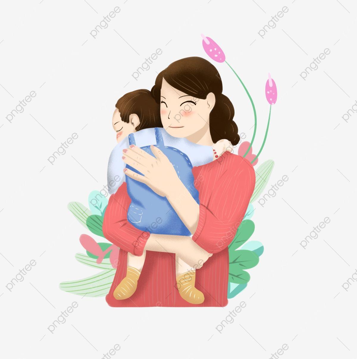 عيد الأم عيد الأم مرسومة باليد الكرتون الأم والطفل الرضيع يوم الأم طفل مرسومة باليد سعيدة Png وملف Psd للتحميل مجانا How To Draw Hands Mother And Child Cartoon