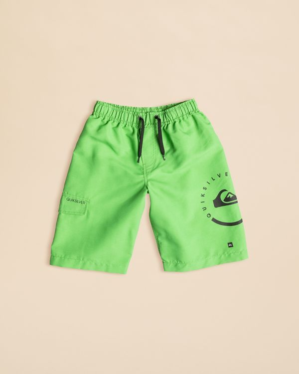 0046ac2280 Quiksilver Boys' Solid Boardshorts - Sizes 2-4T   Everything about ...