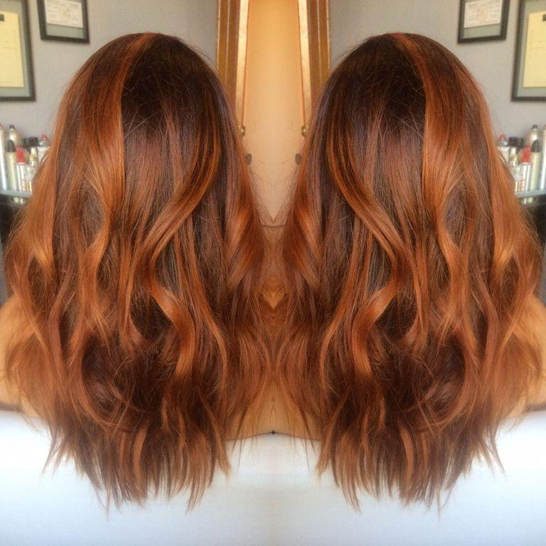 Red Hair Redhead Ginger Hair Salon Hair Color Hair Cut