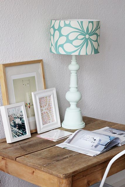 Lámpara perfecta, cuadros perfcetos, By decor8
