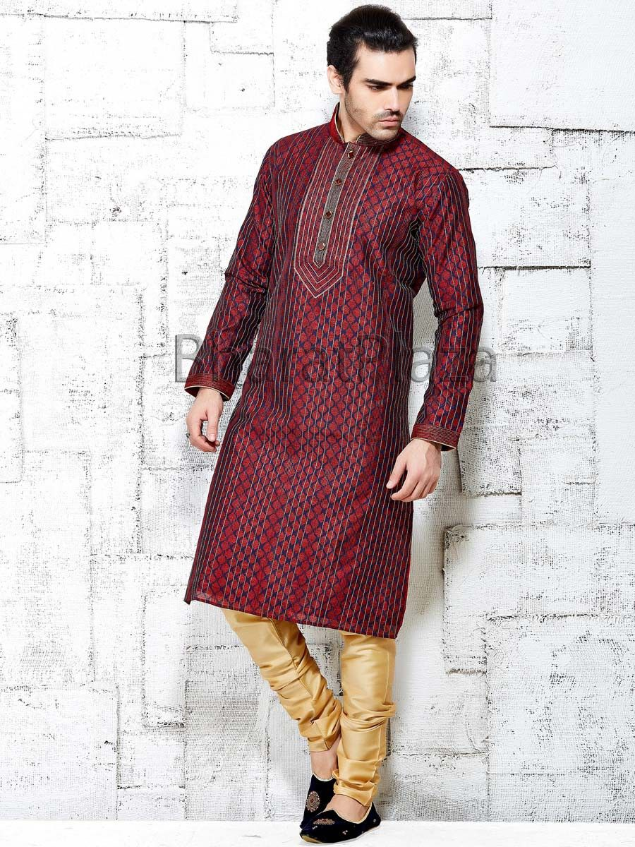 9edb64b61ff Online Clothing Stores · Winsome Jacquard Kurta Indian Wedding Clothes For  Men