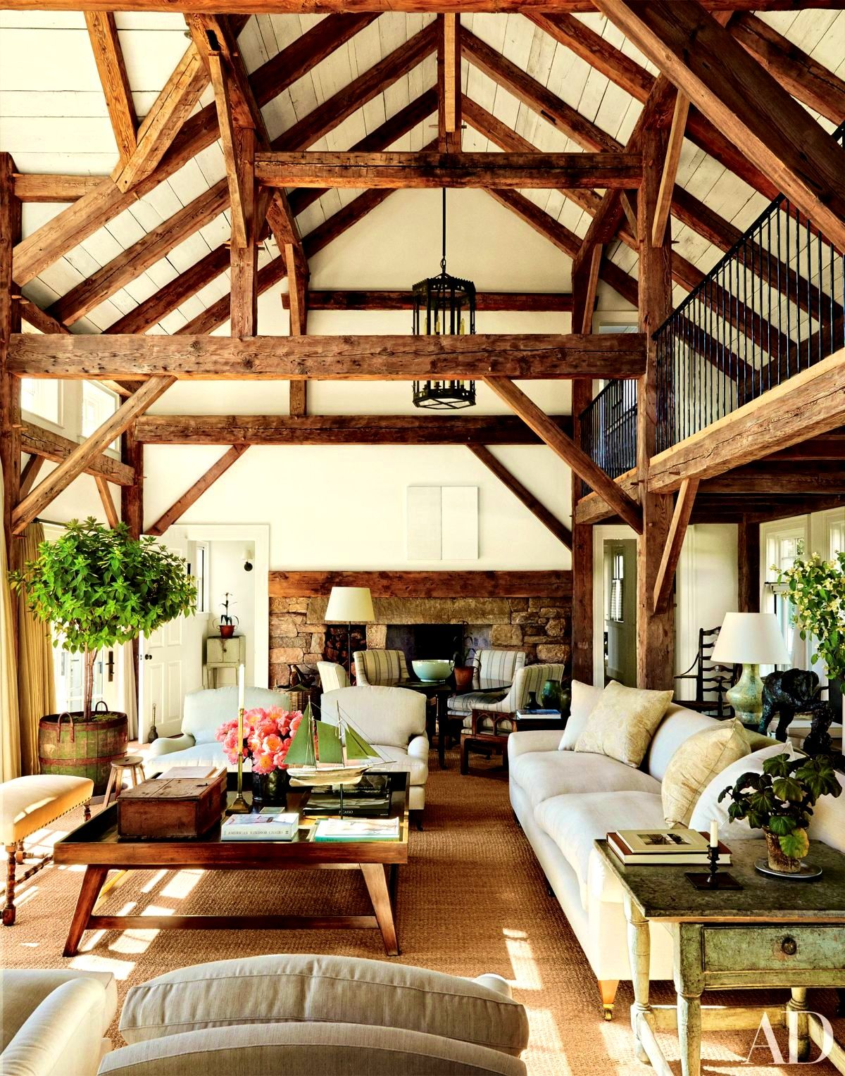Apartments : Stunning Chic Design Trend Exposed Beams Structural Wood  Architecture In Basement Steel Feng Shui Pictures Gallery