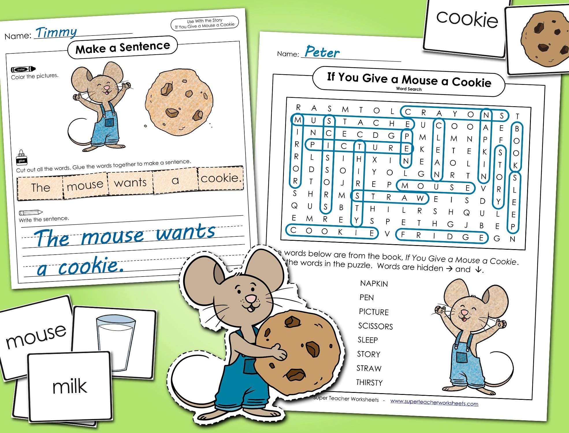 If You Give A Mouse A Cookie In