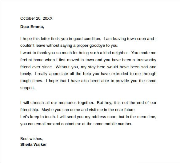 Farewell Letter To Colleagues Template Pinterest Sample Resume