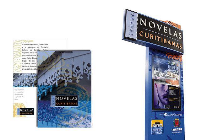 https://flic.kr/p/22gub9 | Novelas Curitibanas | marca, sistema de identidade e sinalização para o teatro Novelas Curitibanas