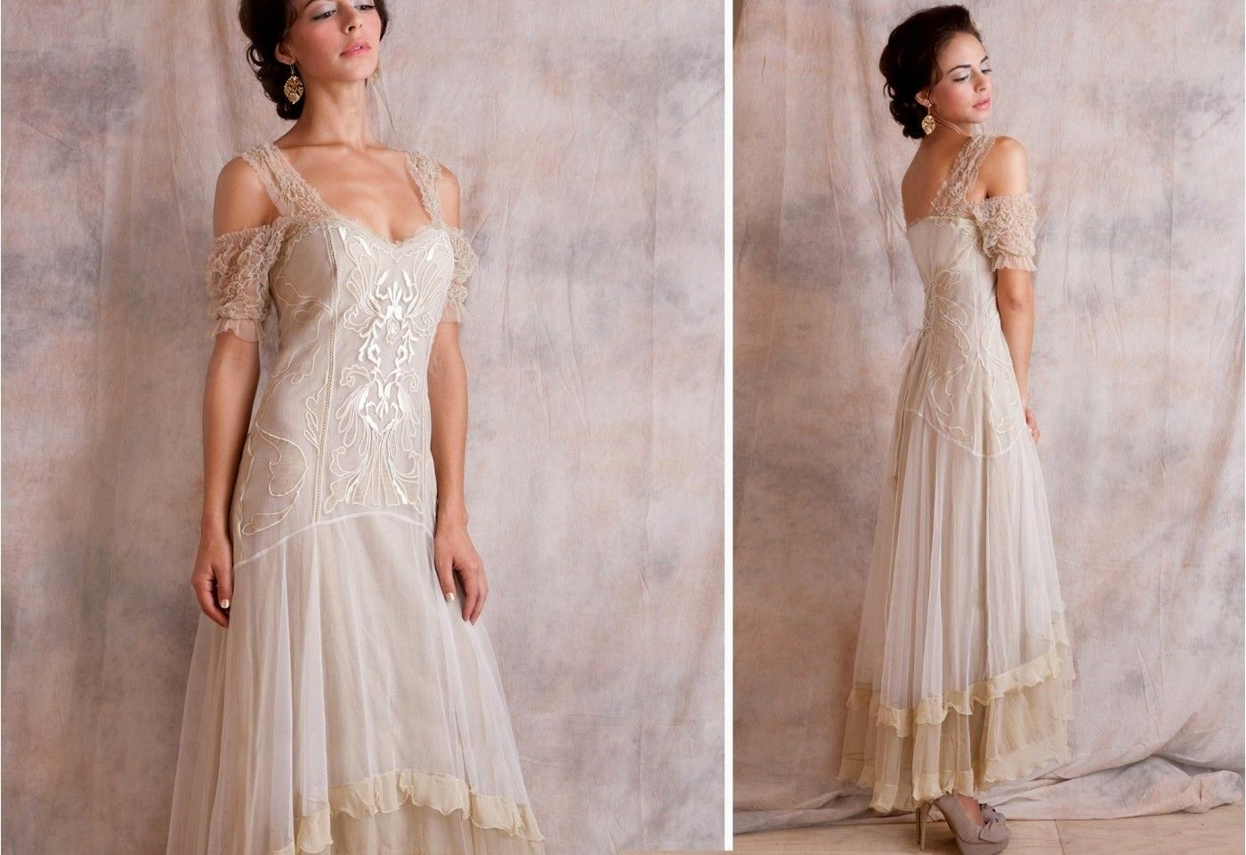Vintage Blue Wedding Dress Unique Vintage Style Wedding Dresses For Older Brides Informal Wedding Dresses Casual Wedding Dress 2nd Marriage Wedding Dress [ 961 x 1400 Pixel ]