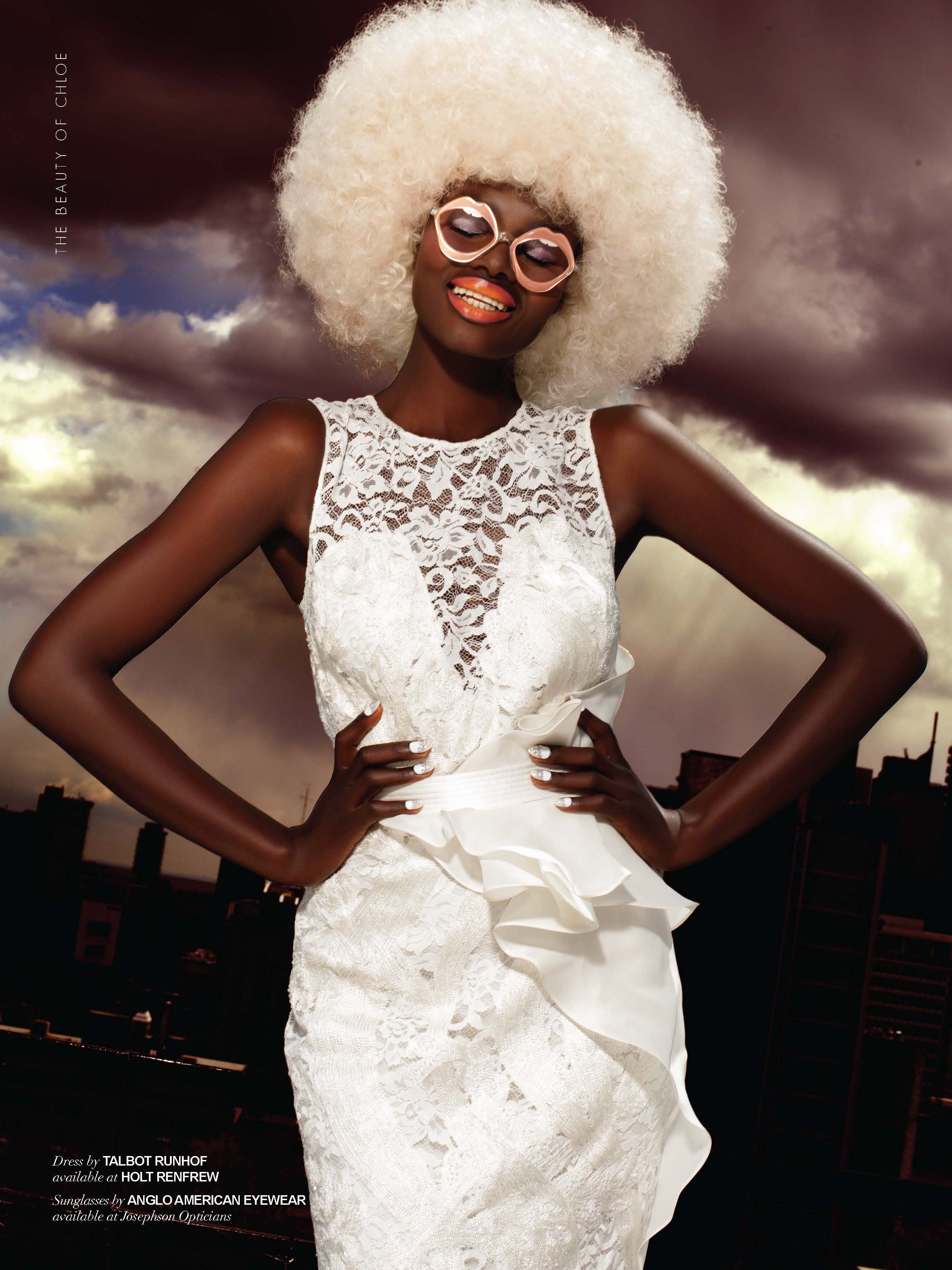 #SUMMER ISSUE #chloemagazine #laugh #white #dress #look #style #amarsanagendunova #matthewlyn #fashion