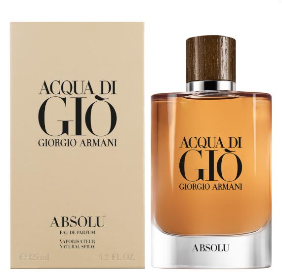 New Men Fragrance 2018 Giorgio Armani Aqua Di Gio Absolu