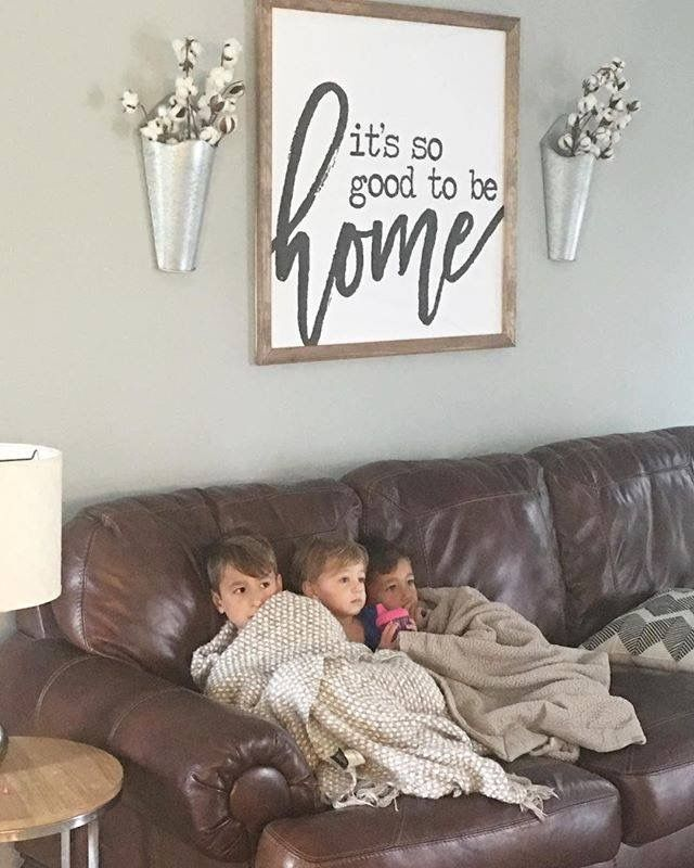 Cute Kiddos I Wonder Which Disney Movie They Re Watching Subliminalmessages Farmhouse Dining Rooms Decor Farm House Living Room Dining Room Wall Decor Cute living room wall decor