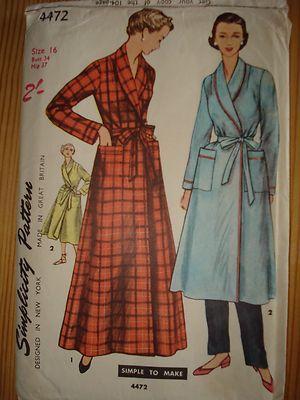 Vintage sewing pattern | Vintage sewing patterns, Sewing patterns ...