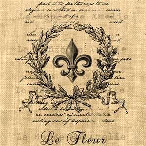 fleur de lis, Free printable