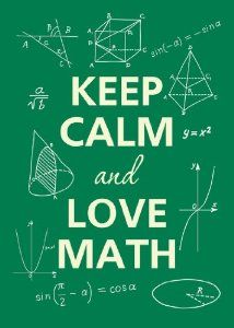 Image result for keep calm and math on