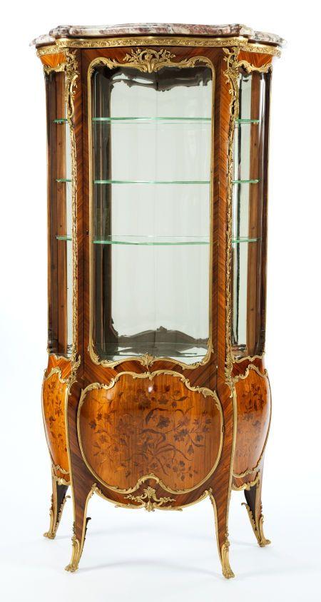 A Joseph-Emmanuel Zwiener Louis XV-Style Gilt Bronze, Satinwood And ...