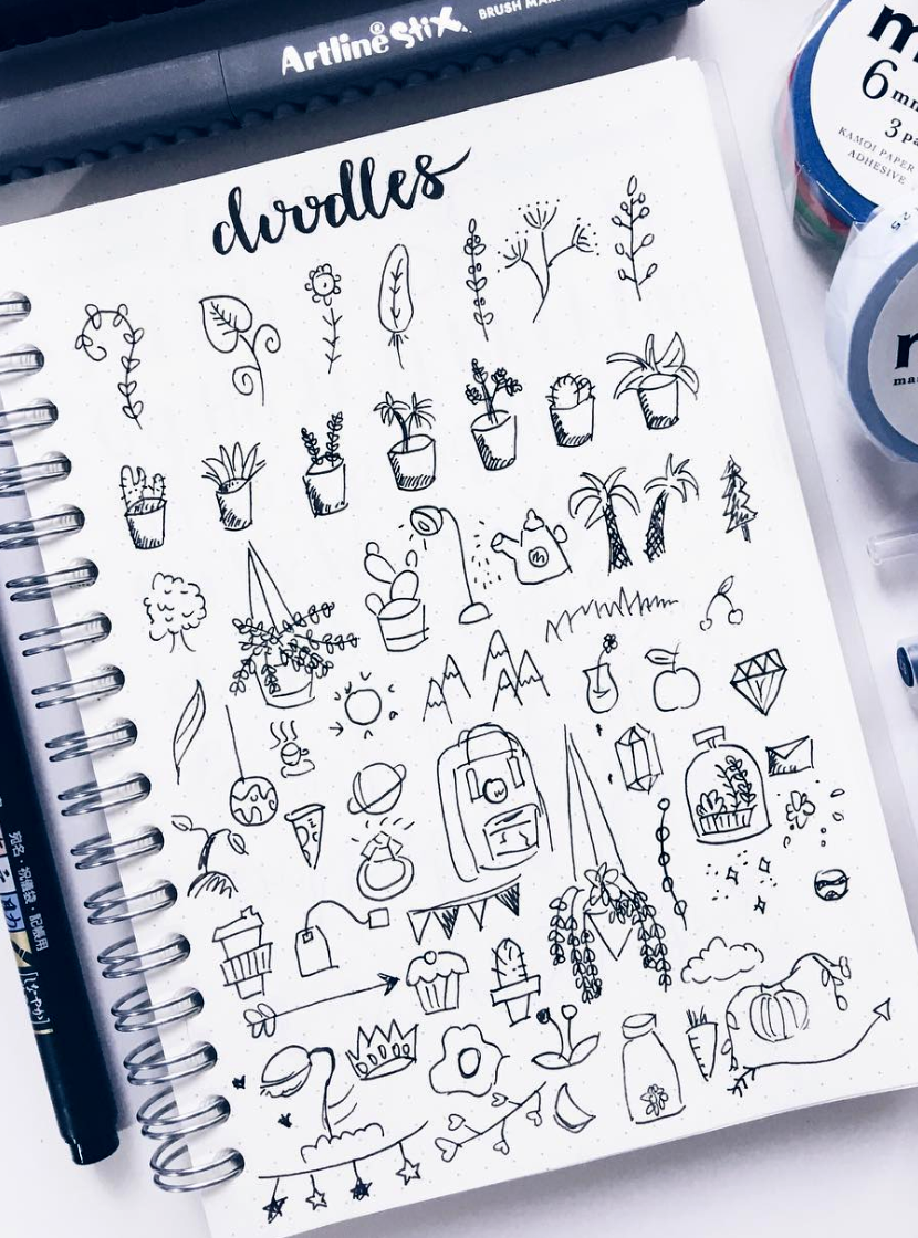 Bullet Journaling Doodles Journal Doodles Bullet Journal Ideas Pages Bullet Journal Mood