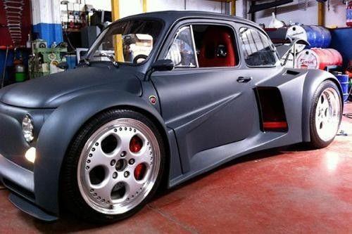 Fiat 500 Con Motore Lamborghini V12 Go Baby Go Lamborghini