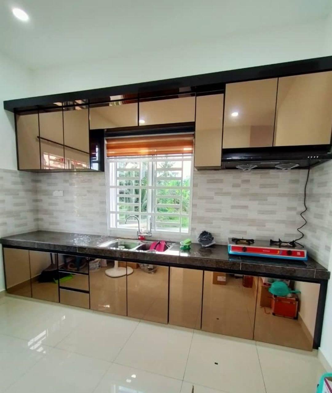 Alhamdulillah Selesai Sudah Pemasangan Kabinet Dapur Di Kg Kandang Melaka Hari Ini Pemasangan Kali Kabinet Dapur Kabinet Dapur