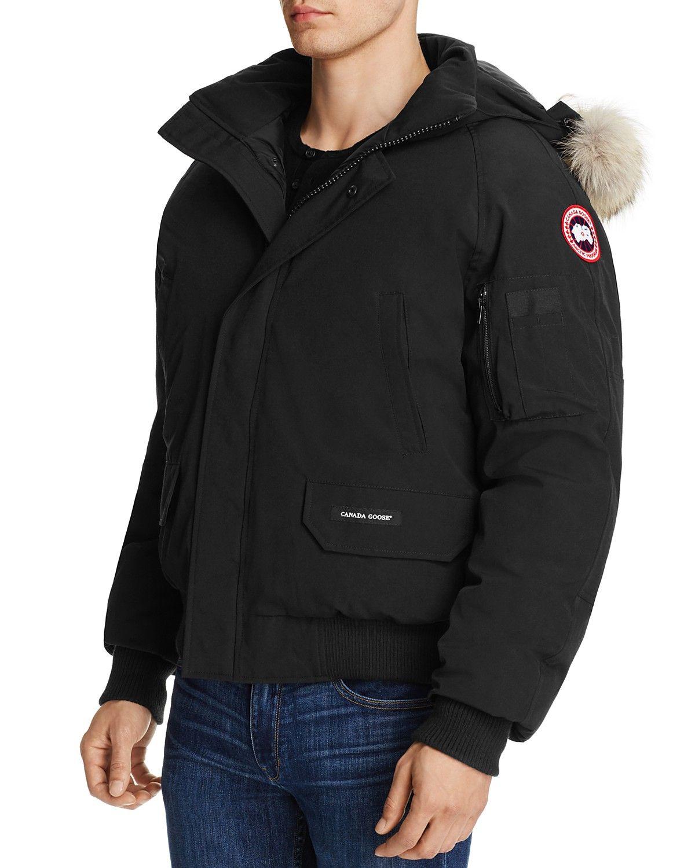 Black UK Canada Goose Outlet Mens Berwick Bomber Jacket
