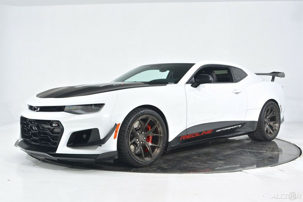 Ebay Advertisement 2018 Chevrolet Camaro Zl1 1le Manual Redline