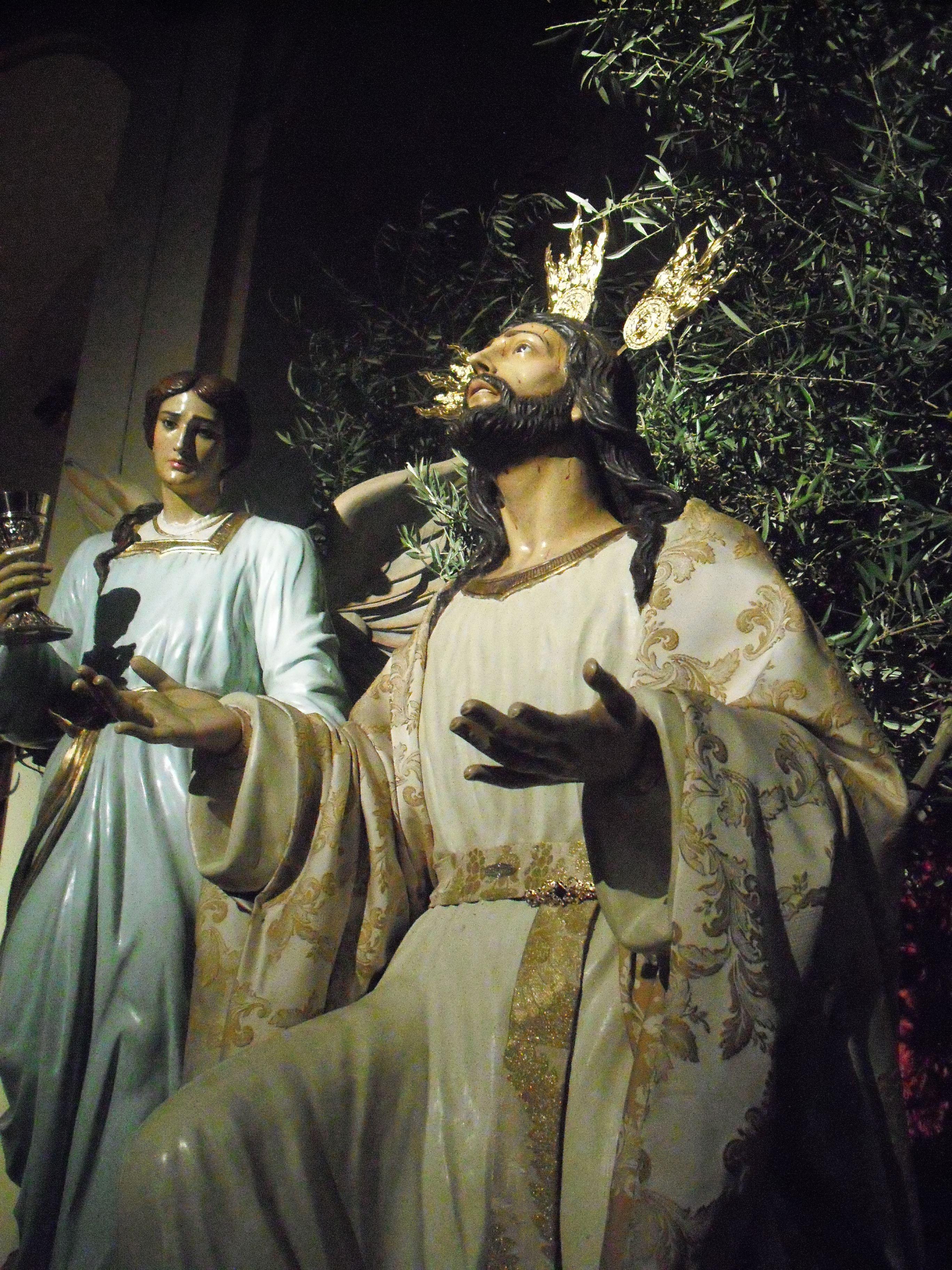 altar de la cofradía de la oración en el huerto de Martos