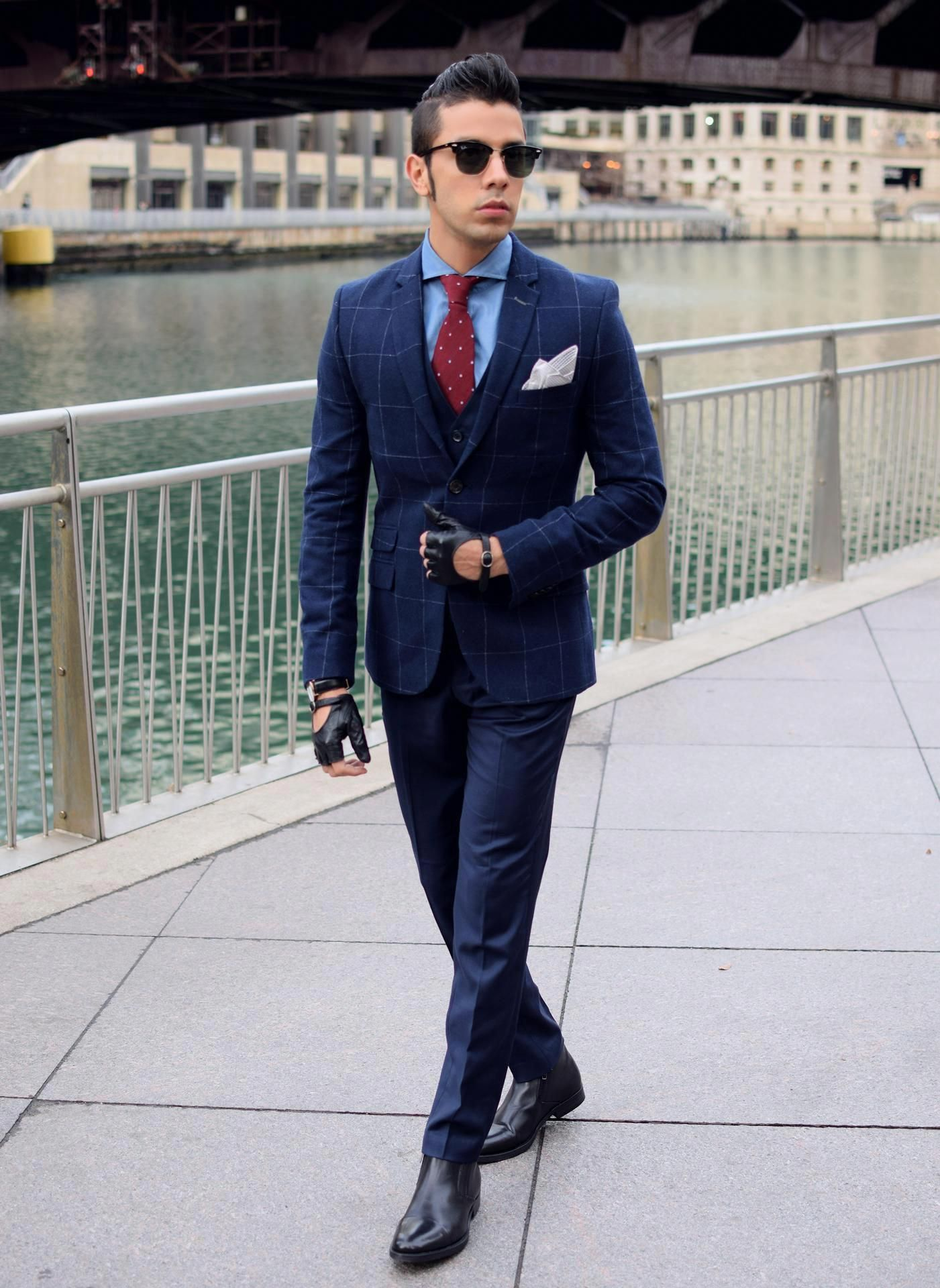 6e502da0968 Chelsea boots with navy suit from The Mood Maker - Frankodean ...