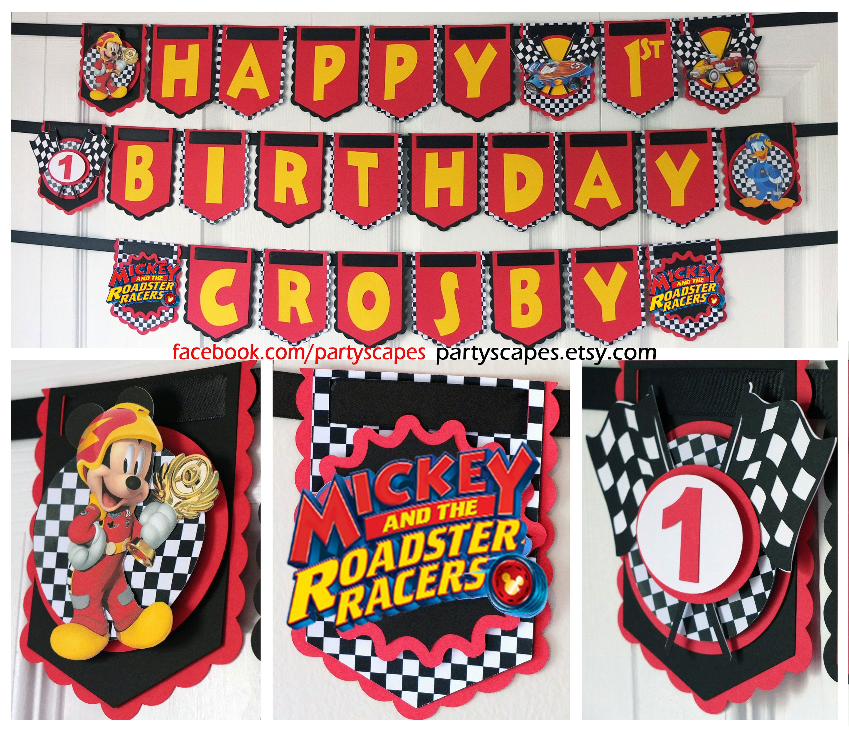 Pin On Mickey And The Roadster Racers Birthday