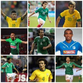 México y Brasil