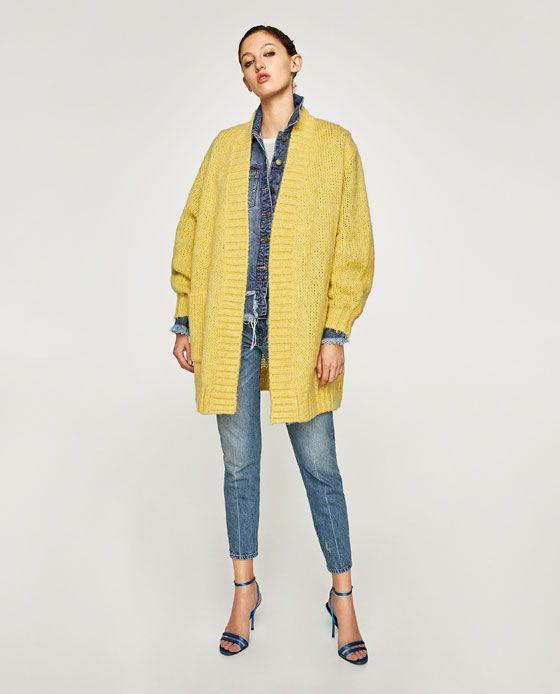innovative design 98a38 12b5a Immagine 1 di GIACCA OVERSIZE LANA di Zara | Things to Wear ...