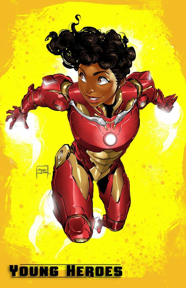 Marcus Williams is creating Artwork + Comics | Black