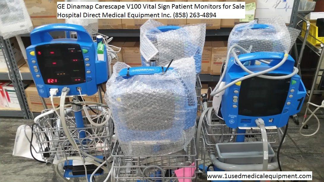 GE Dinamap Carescape V100 Patient Monitor Patient