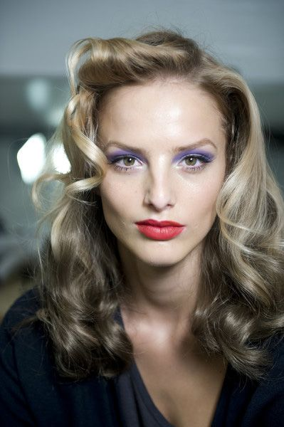 40s Inspired Hair Very Classic Hollywood Hair Down Hairstyles