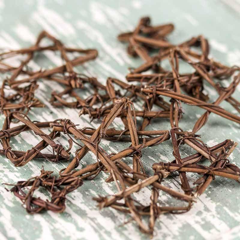 Assorted Miniature Grapevine Stars