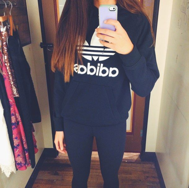 adidas black dressing room fashion girl hair iphone leggings love om. Black Bedroom Furniture Sets. Home Design Ideas