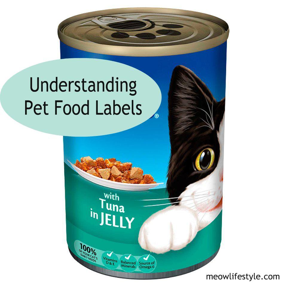Understanding Pet Food Labels