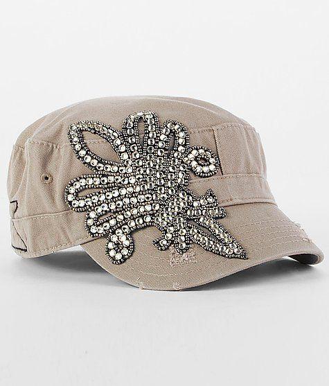 918594e0c50aa Olive Pique Fleur Cadet Hat