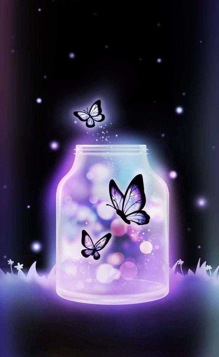 Butterflies Flying Free Butterfly Wallpaper Gold Wallpaper