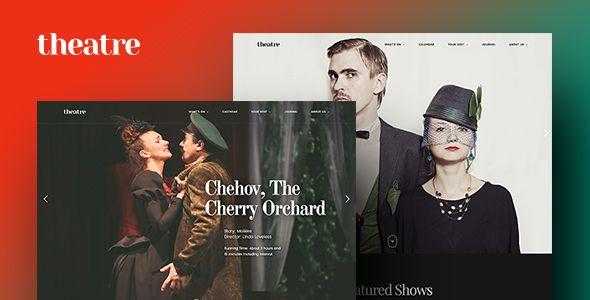 Theatre WP   Art, Culture & Entertainment WordPress Theme