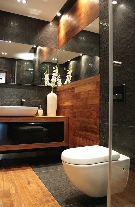 Home Interior Design — Bathroom with tall walls