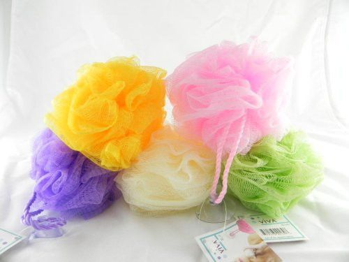 body sponge- assorted colors Case of 288