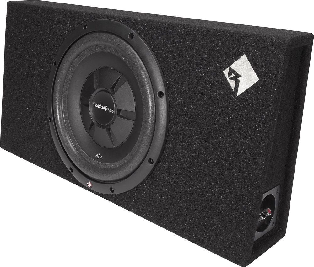 Rockford Fosgate R2s 1x12 Sealed Truck Style Enclosure With One 12 Prime Subwoofer Subwoofer Enclosure Rockford Fosgate 12 Inch Subwoofer