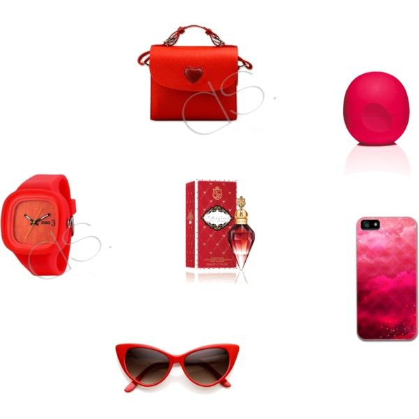 """Full of RED"" by dsstyles on Polyvore www.Dsstyles.com"