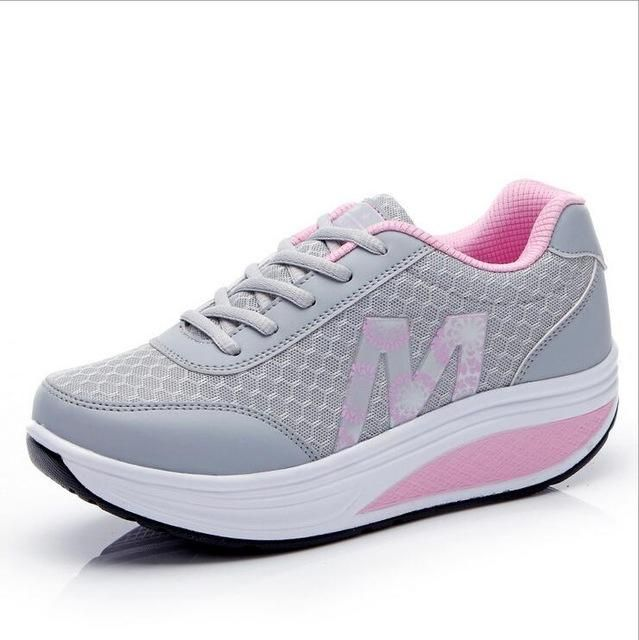 WGZNYN 2017 New Summer Zapato Woman Breathable Mesh Zapatillas Shoes For Women