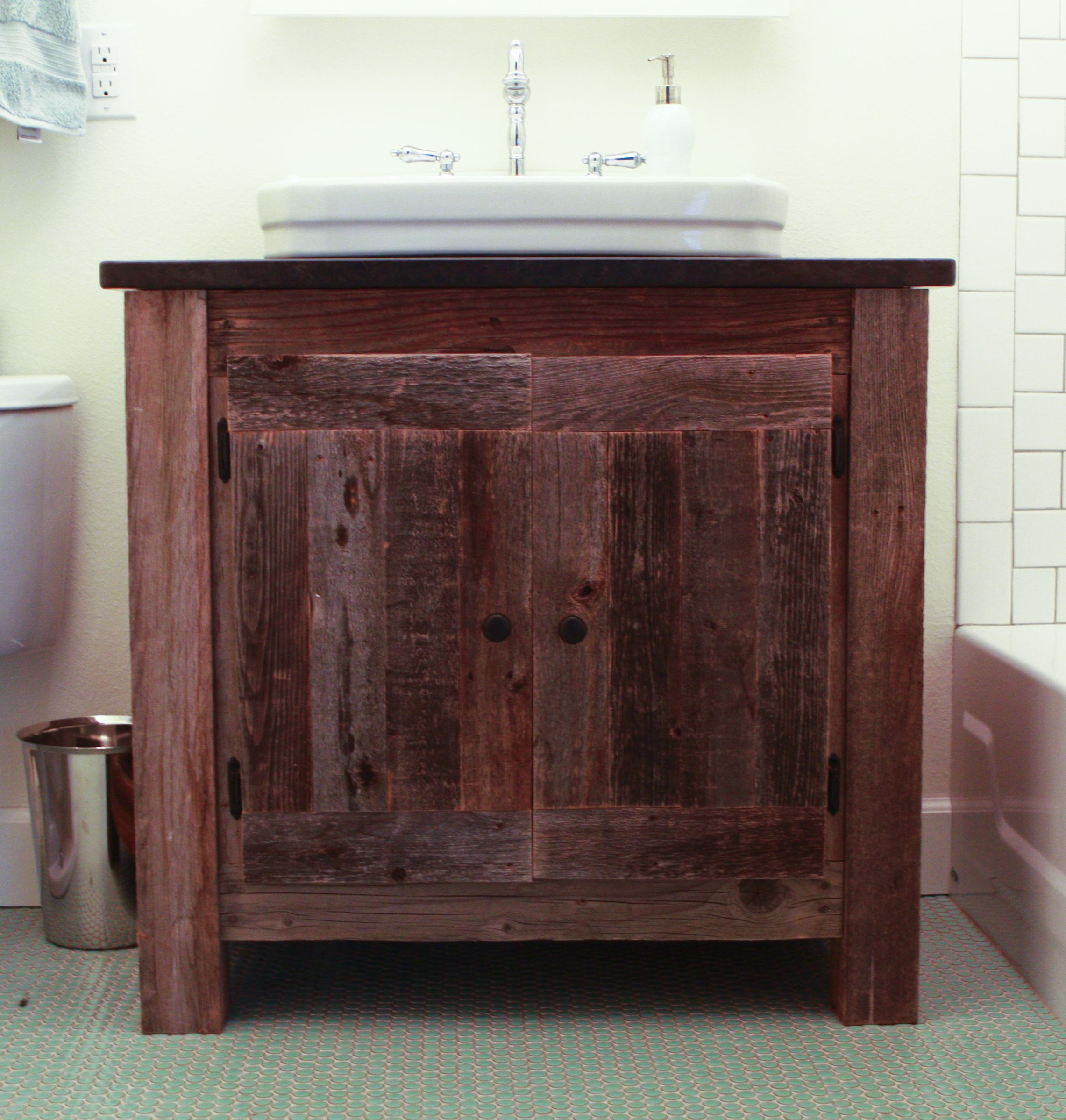 Website Photo Gallery Examples Build a Cedar Vanity Do It Yourself Home Projects from Ana White wooden base around utility sink DIY Ana White Pinterest Vanities Home Projects
