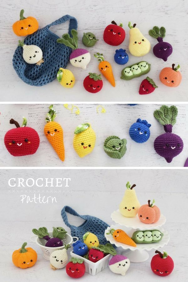 I love this crochet food pattern  would be the perfect handmade first birthday gift Handmade play food is such a fun toy TRICKS OF KNITTING Knitting is one of the most en...