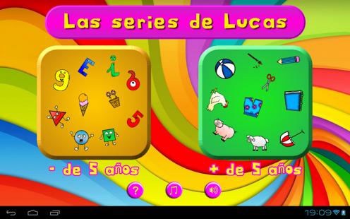 Las Series De Lucas Es Un Juego Educativo De Series Logicas Para