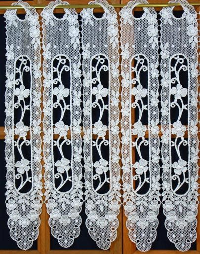 rideau brise vue 60 cm haut brise bise macram pinterest brise rideaux brise bise et rideaux. Black Bedroom Furniture Sets. Home Design Ideas