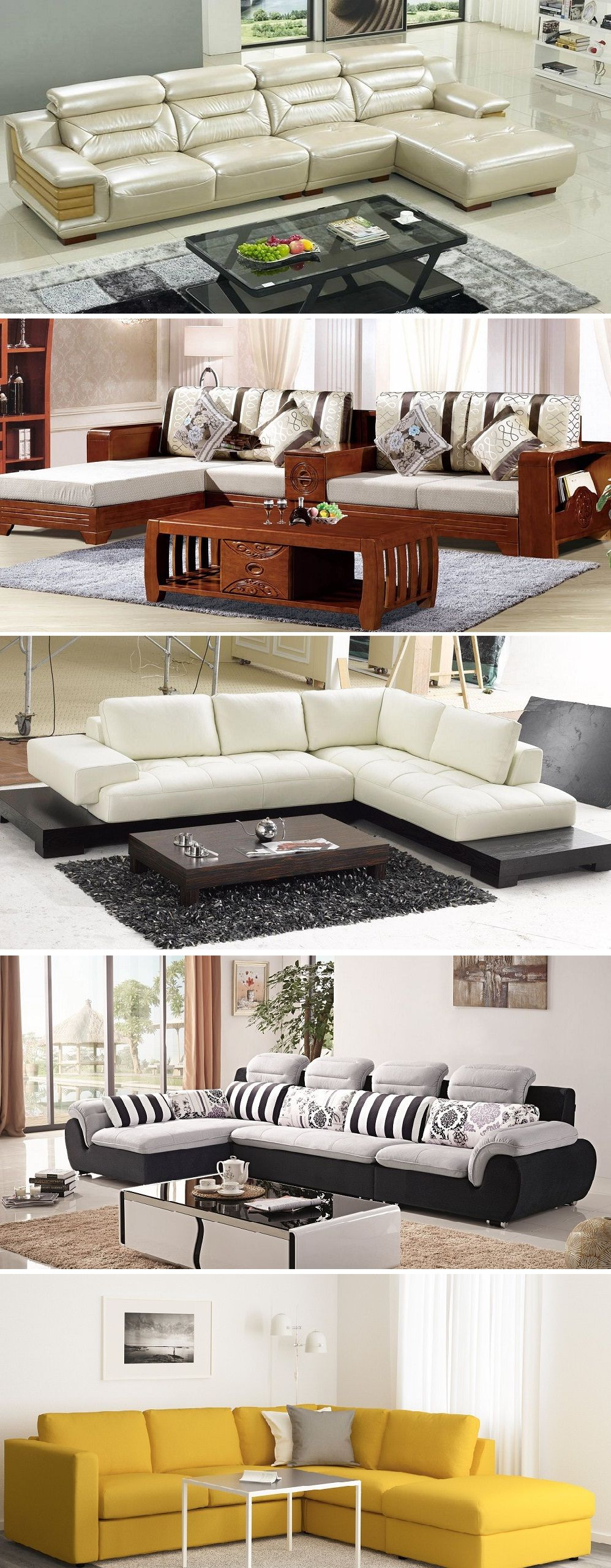 L Shaped Sofa Set Designs Couches and Furniture