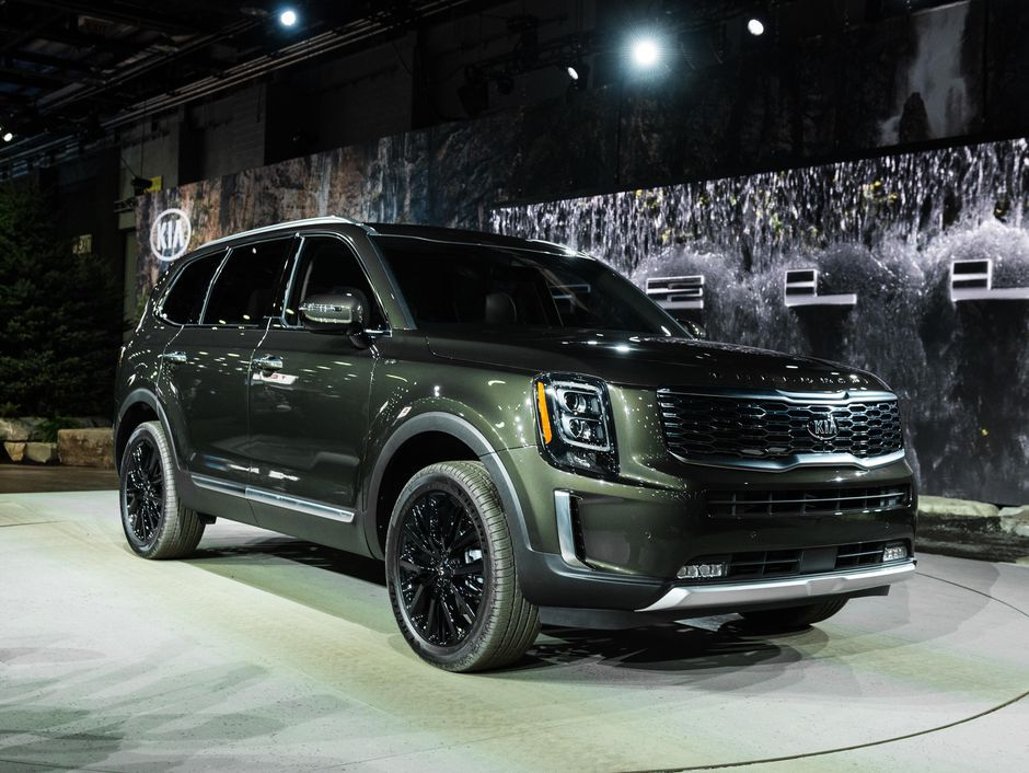 Head For The Mountains In The 2020 Kia Telluride Kia Detroit Auto Show Telluride