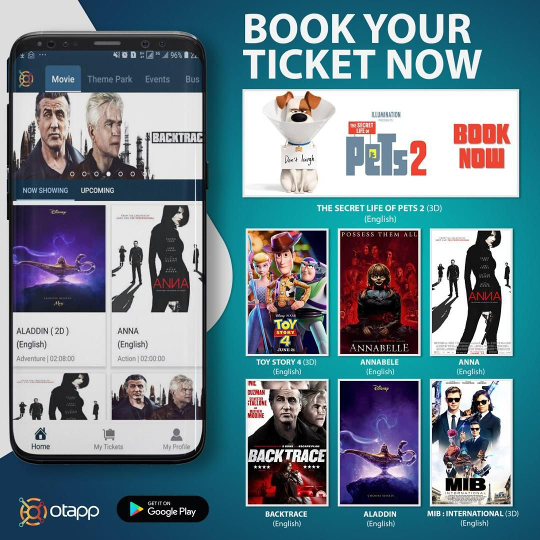 Buy Movie Tickets Online From Tanzania Otapp App | Buy movies, Movie  tickets, Movies