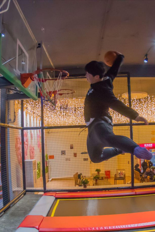 trampoline fun zone in 2020 Kids indoor trampoline